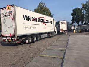 Groen! Deze vrachtwagens hoeven in Helmond (bijna) nooit meer te stoppen